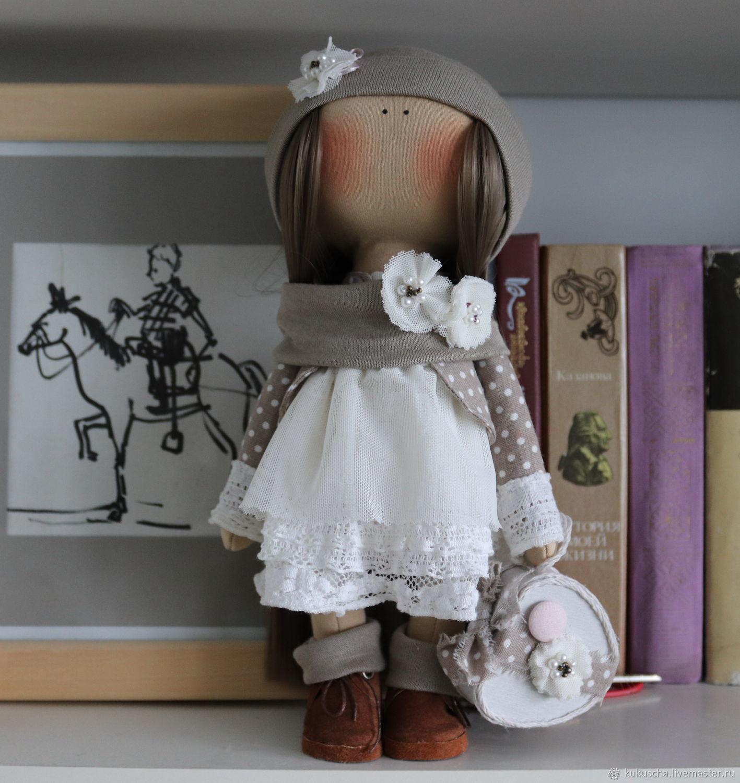 интерьерная текстильная кукла ждет принца на белом коне, Большеножка, Санкт-Петербург,  Фото №1