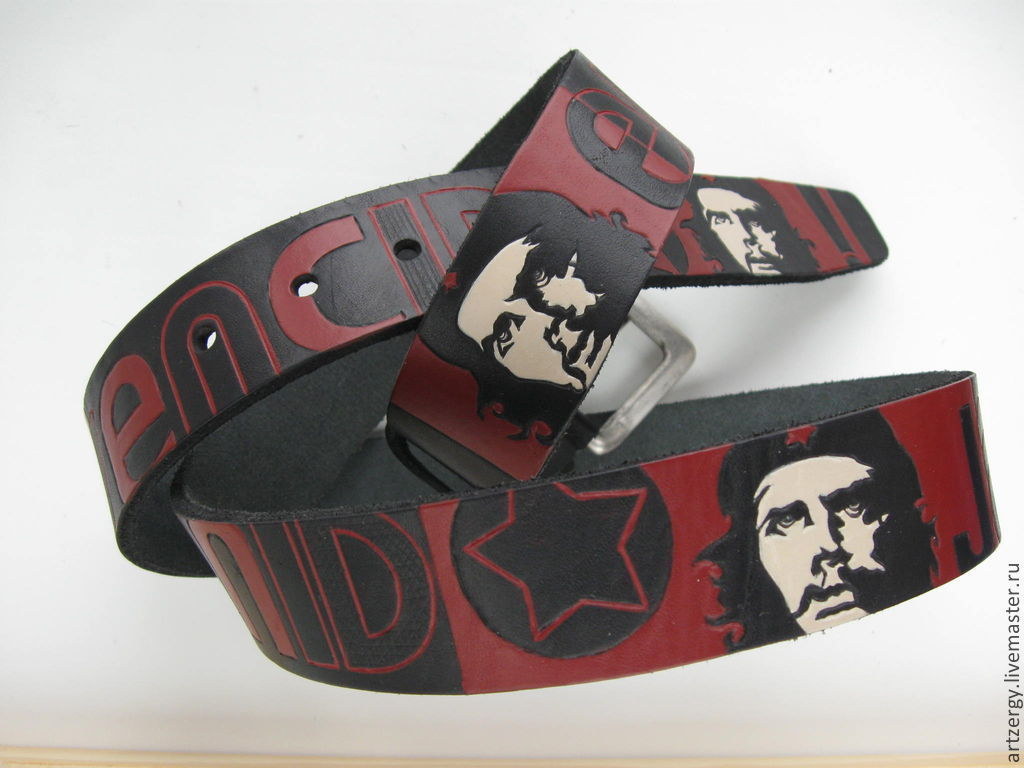 strap leather 'CHE GUEVARA', Straps, Moscow,  Фото №1