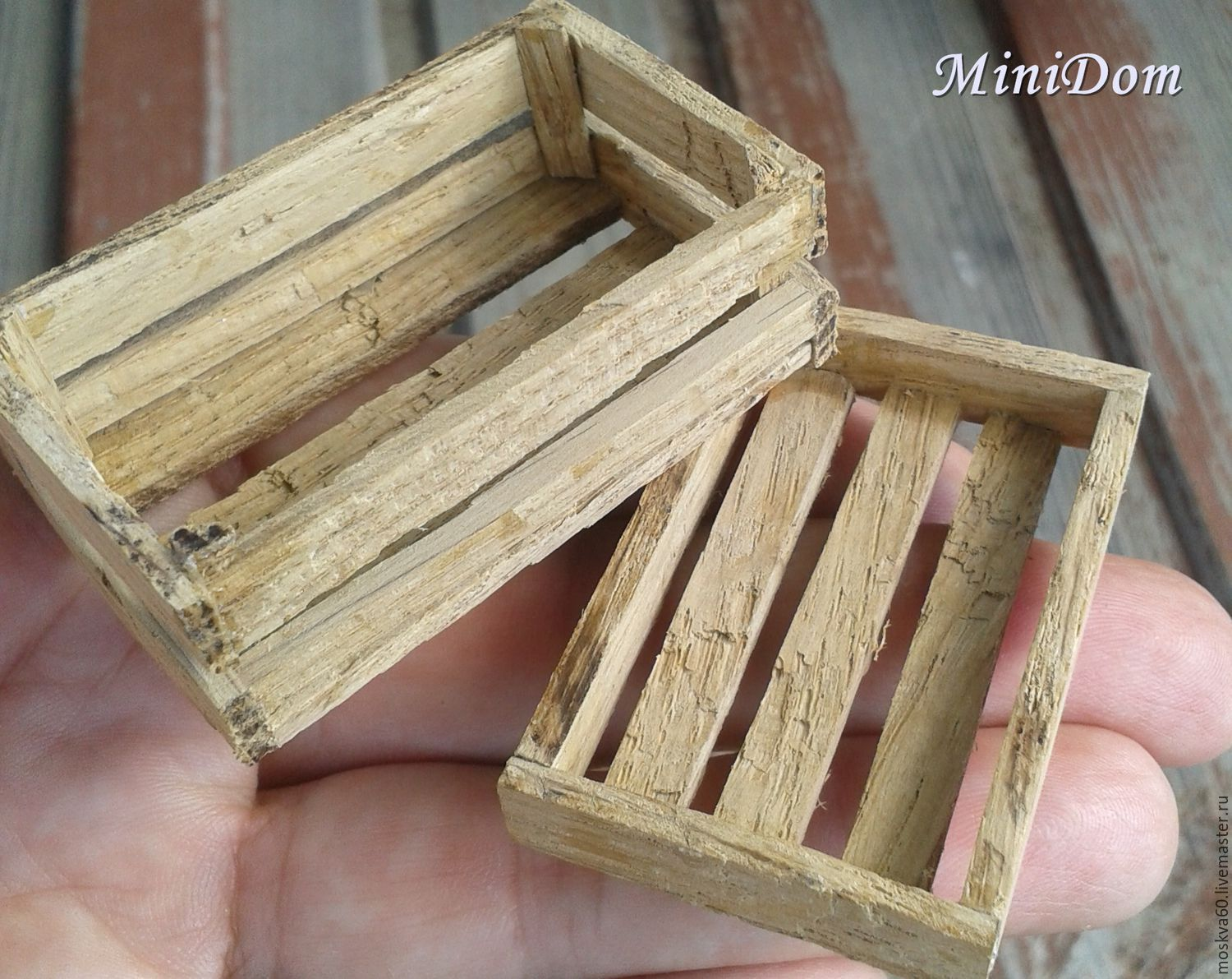 Order Accessories For Dolls   Wooden Crates, Boxes For Vegetables.