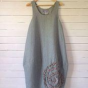 """Одежда ручной работы. Ярмарка Мастеров - ручная работа Бохо сарафан """"Спираль"""". Handmade."""