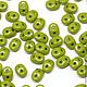 Для украшений ручной работы. Ярмарка Мастеров - ручная работа. Купить Чешские бусины SuperDuo, Оливин, СуперДуо чешские, 5гр. Handmade.