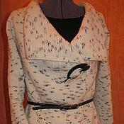 """Одежда ручной работы. Ярмарка Мастеров - ручная работа Вязаный кардиган """"Березка"""". Handmade."""