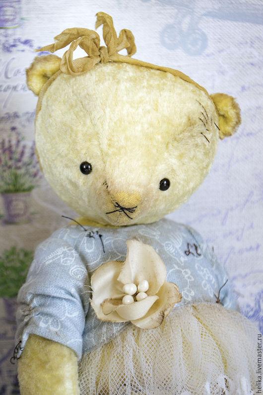 Мишки Тедди ручной работы. Ярмарка Мастеров - ручная работа. Купить little Lily. Handmade. Лимонный, игрушка ручной работы