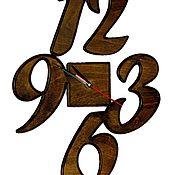 Часы классические ручной работы. Ярмарка Мастеров - ручная работа Часы настенные деревянные. Handmade.