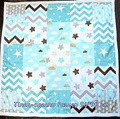 Работы для детей, ручной работы. Ярмарка Мастеров - ручная работа Плед-одеяло. Handmade.