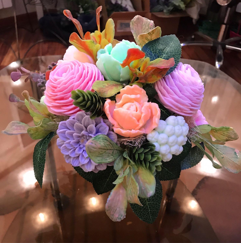 Цветов шатура, букет цветов из детского мыла купить