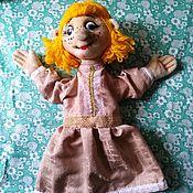 Куклы и игрушки handmade. Livemaster - original item Girl. Glove theater doll for a performance.. Handmade.