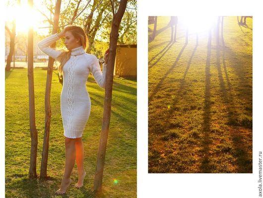 """Платья ручной работы. Ярмарка Мастеров - ручная работа. Купить Платье """" Белые ночи"""". Handmade. Белый"""