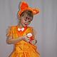 Детские карнавальные костюмы ручной работы. Ярмарка Мастеров - ручная работа. Купить Лисичка. Handmade. Рыжий, лесные жители, карнавал