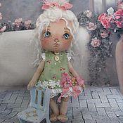 """Куклы и игрушки ручной работы. Ярмарка Мастеров - ручная работа Текстильная кукла- малышка """"Лиза"""". Handmade."""