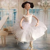 Куклы и пупсы ручной работы. Ярмарка Мастеров - ручная работа Балерина интерьерная кукла. Handmade.