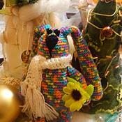 Куклы и игрушки ручной работы. Ярмарка Мастеров - ручная работа Зайчик Ушастик. Handmade.