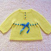 """Работы для детей, ручной работы. Ярмарка Мастеров - ручная работа Платье """" Моё Солнышко"""". Handmade."""