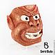 Интерьерные  маски ручной работы. Маска Дзасики-вараси. Serg Bula. Интернет-магазин Ярмарка Мастеров. Интерьерная маска
