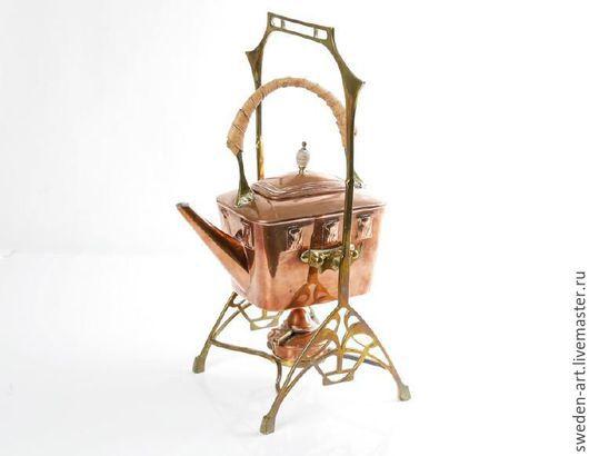 Винтажная посуда. Ярмарка Мастеров - ручная работа. Купить выст экз.Медный чайник - бульотка --  Франция  1940-50. Handmade.