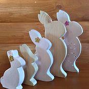 Элементы интерьера ручной работы. Ярмарка Мастеров - ручная работа Кролики. Handmade.