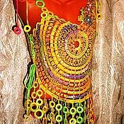 """Одежда ручной работы. Ярмарка Мастеров - ручная работа Туника """"Под струнами поющего чатхана"""" / Авторская работа. Handmade."""