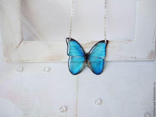 купить прозрачный кулон бабочка кулон в виде бабочки украшения кулоны фото эпоксидная смола купить подарок интернет магазин подарков украшений кулон прозрачная бабочка витраж бохо стиль эко