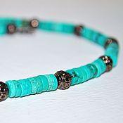 Украшения handmade. Livemaster - original item Choker made of turquoise. Handmade.