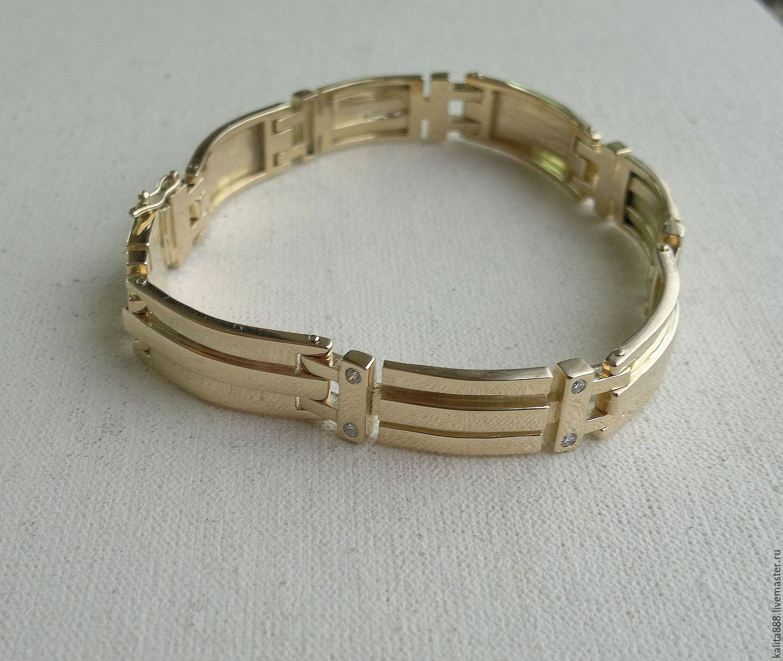 Мужские браслеты из золота 585 фото с ценами
