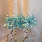 Свадебный салон ручной работы. Ярмарка Мастеров - ручная работа Свечи на крещение. Handmade.