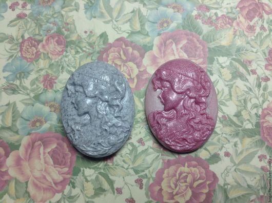 """Для украшений ручной работы. Ярмарка Мастеров - ручная работа. Купить Камея """"Милочка"""", ручная работа. Handmade. Бледно-розовый"""