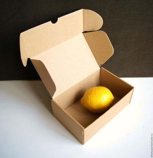 """Упаковка ручной работы. Ярмарка Мастеров - ручная работа. Купить коробка """"Простая-16"""" маленькая прямоугольная  18х11х7 см. Handmade."""