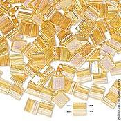 Материалы для творчества ручной работы. Ярмарка Мастеров - ручная работа Миюки ТИЛА 251 transparent rainbow light lemon 10гр. Handmade.