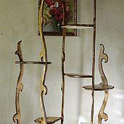 Для дома и интерьера ручной работы. Ярмарка Мастеров - ручная работа Подставка для цветов. Handmade.
