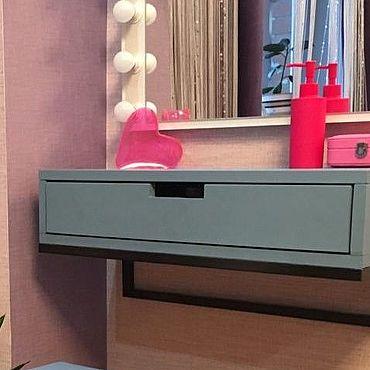 Для дома и интерьера ручной работы. Ярмарка Мастеров - ручная работа Полка с ящиком. Handmade.