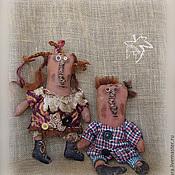 Куклы и игрушки ручной работы. Ярмарка Мастеров - ручная работа и еще парочка тыковок. Handmade.