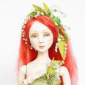 """Куклы и игрушки ручной работы. Ярмарка Мастеров - ручная работа Авторская шарнирная кукла """"Ландыш"""". Handmade."""