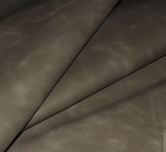 Шитье ручной работы. Ярмарка Мастеров - ручная работа. Купить Натуральная кожа. Дымка (КРС винтажная кожа). Handmade.