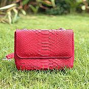 Сумки и аксессуары handmade. Livemaster - original item COCO Python leather handbag. Handmade.