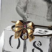 "Субкультуры ручной работы. Ярмарка Мастеров - ручная работа Стимпанк браслет брошь ""Perpetuum Mobile"" Steampunk. Handmade."
