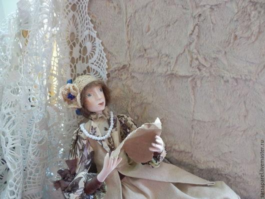 Коллекционные куклы ручной работы. Ярмарка Мастеров - ручная работа. Купить Старое письмо (куклы с историей). Handmade. Разноцветный