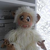 Куклы и игрушки ручной работы. Ярмарка Мастеров - ручная работа Малыш Йети. Handmade.