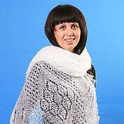 """Палантины ручной работы. Ярмарка Мастеров - ручная работа 13 палантин пуховый """" Для милых дам""""  шарф , аксессуары. Handmade."""