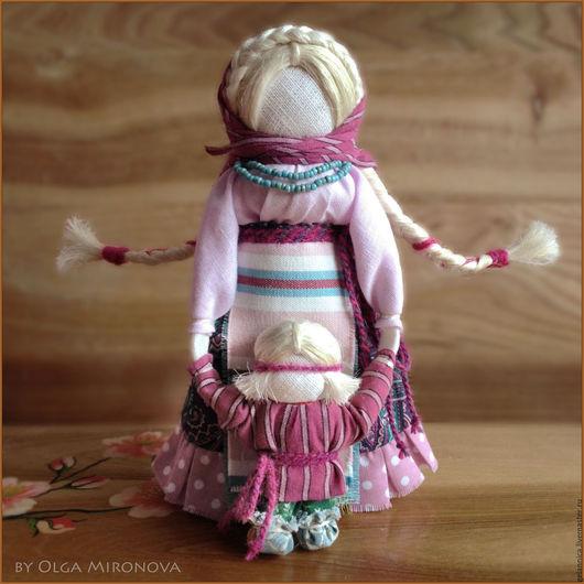 Народные куклы ручной работы. Ярмарка Мастеров - ручная работа. Купить Ведучка с мальчиком. Handmade. Ведучка, русская кукла