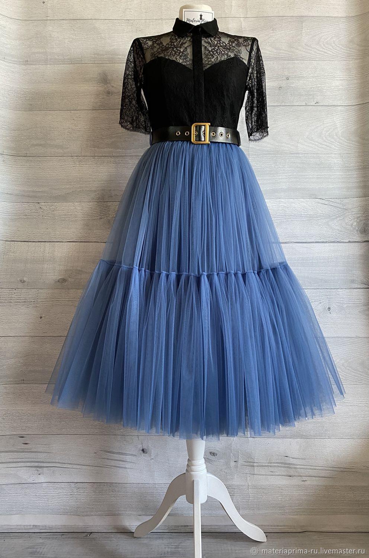 юбка-пачка американка из фатина Люкс в стиле Dior, Юбки, Москва,  Фото №1