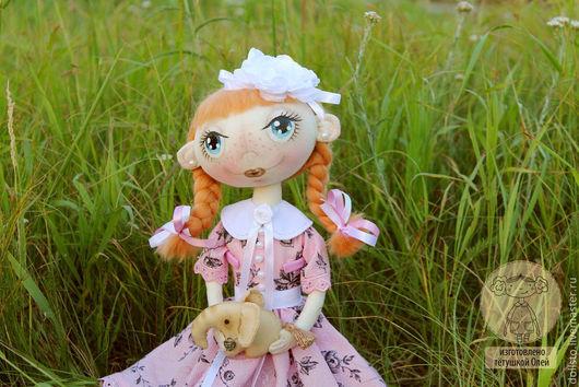 Коллекционные куклы ручной работы. Ярмарка Мастеров - ручная работа. Купить Я красавица...Рыжуля. Handmade. Кукла, слон