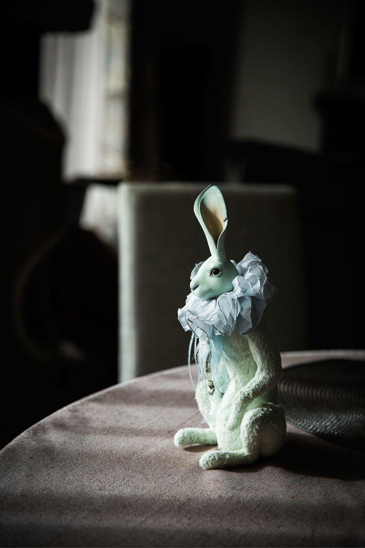 Мятный кролик. 32см в полный рост, Тедди Долл, Москва,  Фото №1