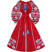 """Одежда ручной работы. Ярмарка Мастеров - ручная работа Длинное платье """"Огненный танец"""". Handmade."""