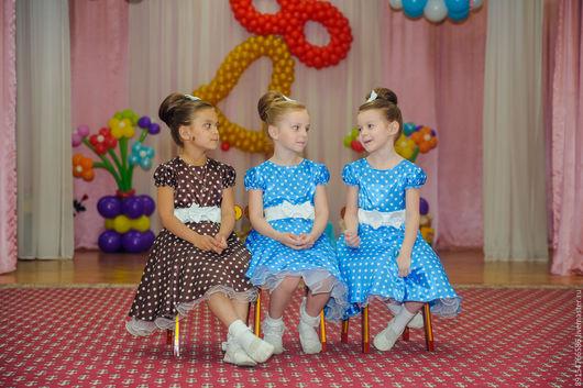 Одежда для девочек, ручной работы. Ярмарка Мастеров - ручная работа. Купить детское платье. Handmade. Ярко-красный, юбка для девочки