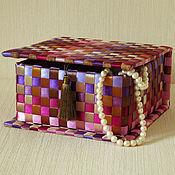 Для дома и интерьера ручной работы. Ярмарка Мастеров - ручная работа Шкатулка Пион. Handmade.