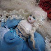 Куклы и игрушки ручной работы. Ярмарка Мастеров - ручная работа Герда... или Рождественские розы.. Handmade.