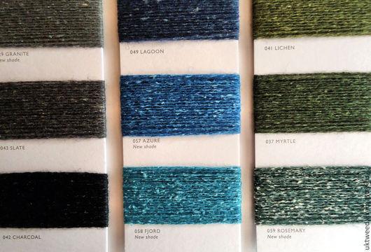 Вязание ручной работы. Ярмарка Мастеров - ручная работа. Купить Пряжа Самарканд  75% шерсть, 25% шелк 058 Fjord. Handmade.