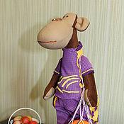 Куклы и игрушки ручной работы. Ярмарка Мастеров - ручная работа Обезьянка Тильда. Handmade.