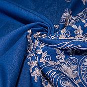 Материалы для творчества ручной работы. Ярмарка Мастеров - ручная работа Итальянская джинсовая ткань  CHLOE с вышивкой. Handmade.