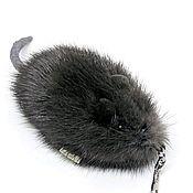 Сувениры и подарки handmade. Livemaster - original item Mouse souvenir, keychain made of mink fur. Handmade.
